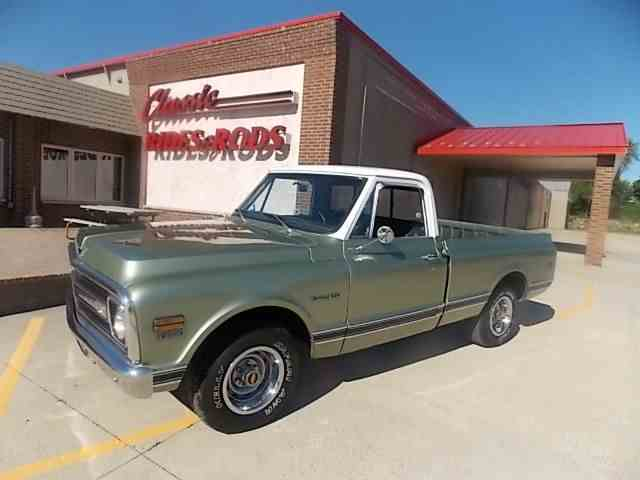 1969 CHEVROLET C10 SHORT BOX