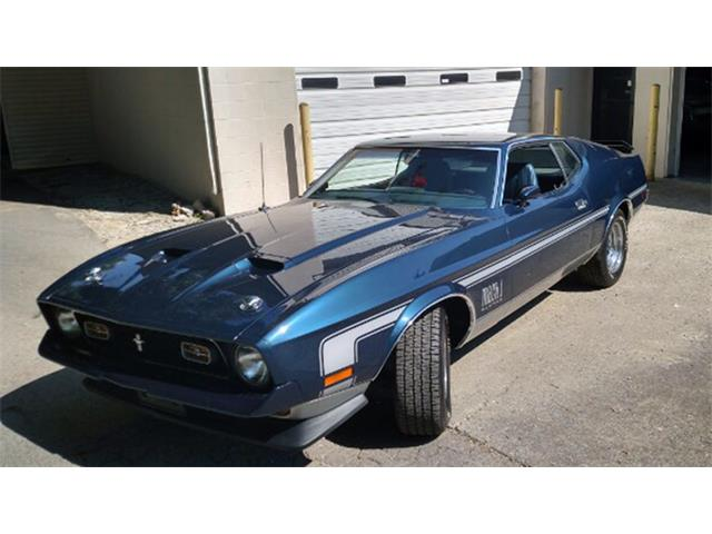 1971 Ford Mustang Mach 1 | 889632