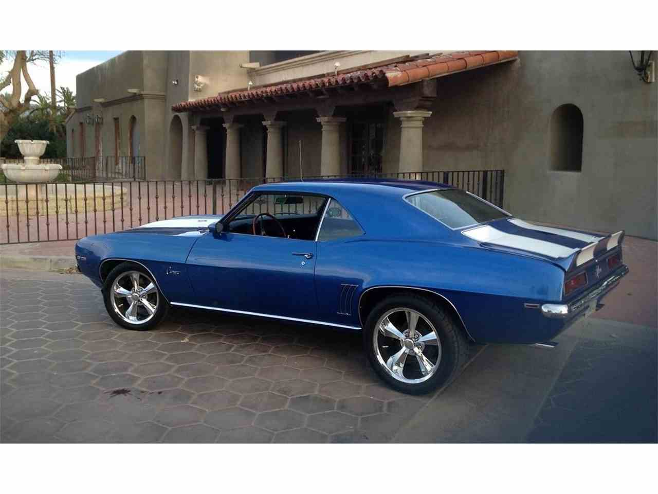 1969 chevrolet camaro z28 for sale cc 889924. Black Bedroom Furniture Sets. Home Design Ideas