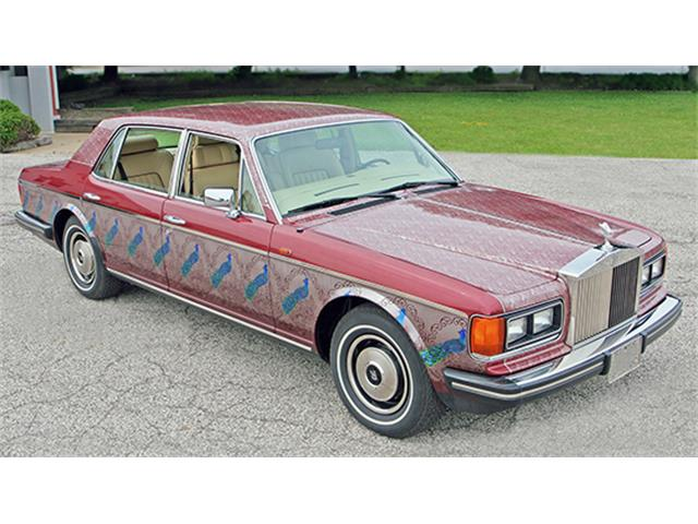 "1984 Rolls-Royce Silver Spur ""Lace Peacock"" Saloon 