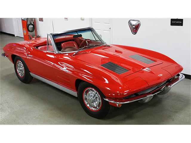 1963 Chevrolet Corvette Fuel-Injected Convertible | 889980