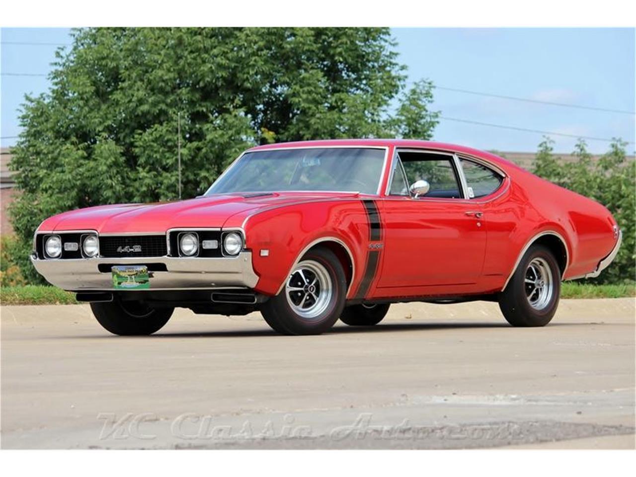 2153102 1968 oldsmobile 442 w30 4spd excellent car std