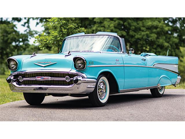 1957 Chevrolet Bel Air Fuel-Injected Convertible | 891132