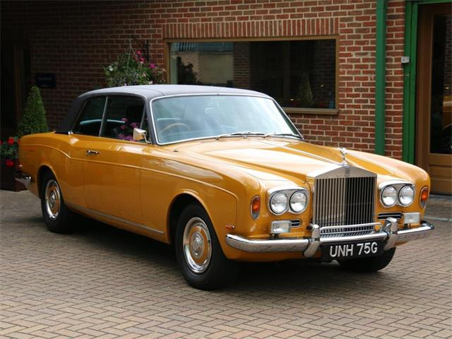 1969 Rolls-Royce Mulliner Park Ward Coupe | 891199