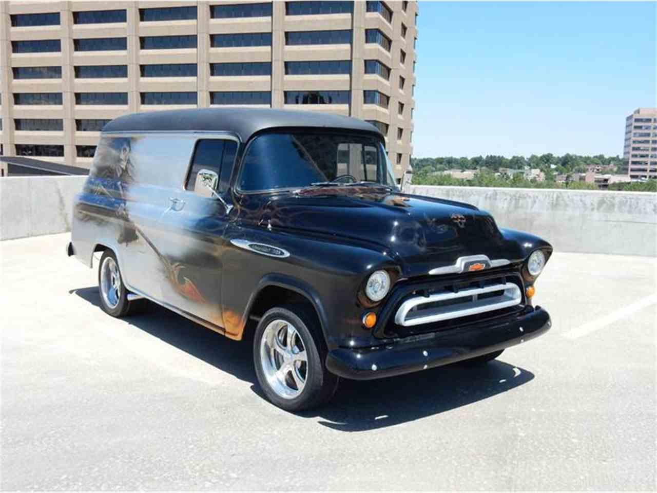 1957 Chevrolet 3100 Panel Van For Sale