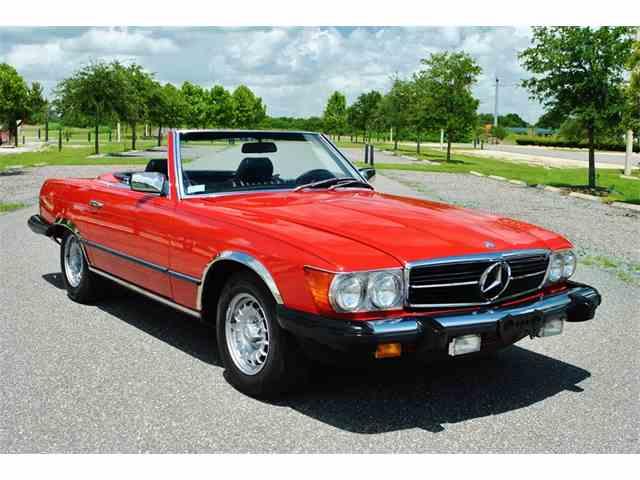 1985 Mercedes 380sl | 890134
