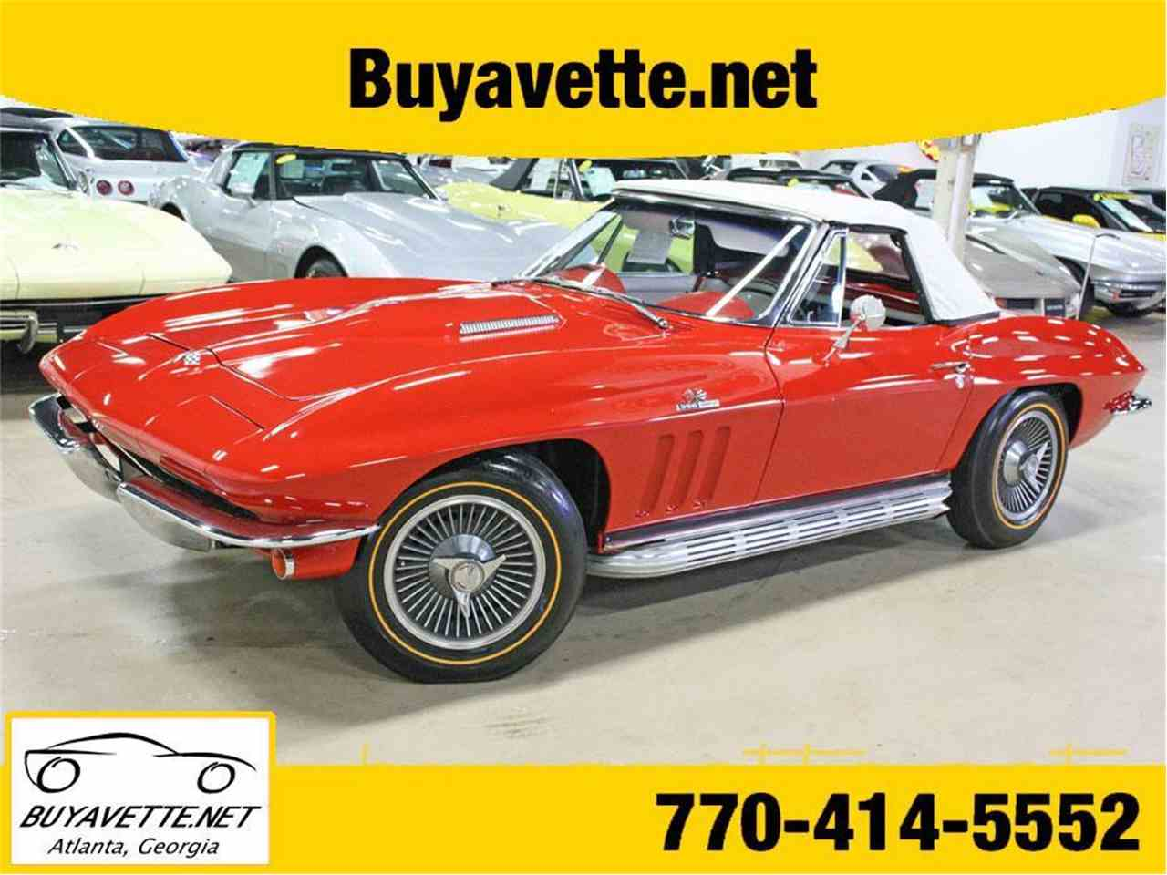 Large Picture of '65 Corvette - J3US
