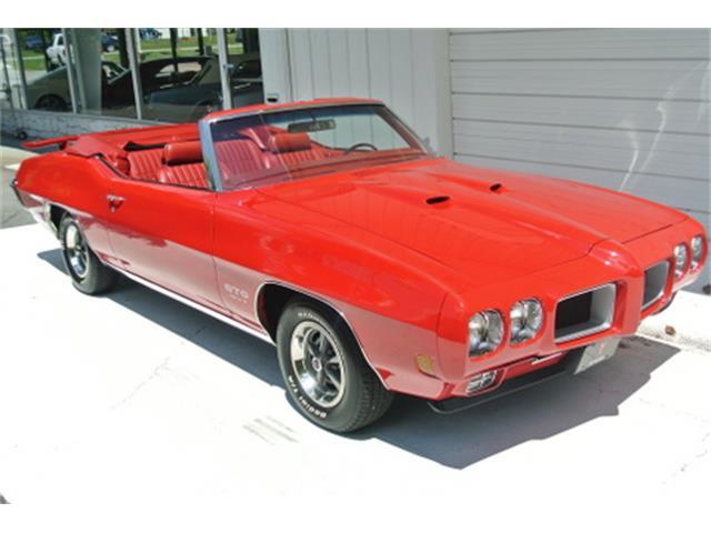 1970 Pontiac GTO 455 HO Convertible | 891471