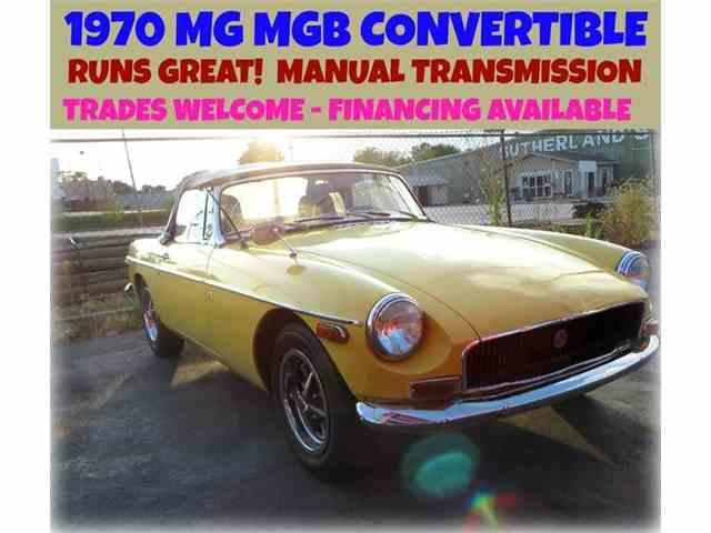 1970 MG MGB | 891642