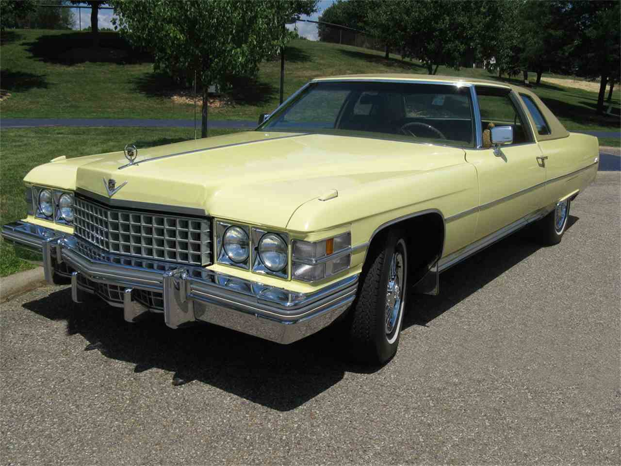 1974 cadillac coupe deville for sale. Black Bedroom Furniture Sets. Home Design Ideas