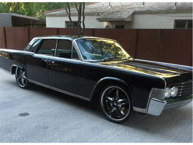 1965 lincoln continental for sale on 8. Black Bedroom Furniture Sets. Home Design Ideas