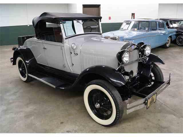 1929 Ford Model A Shay replica   892104