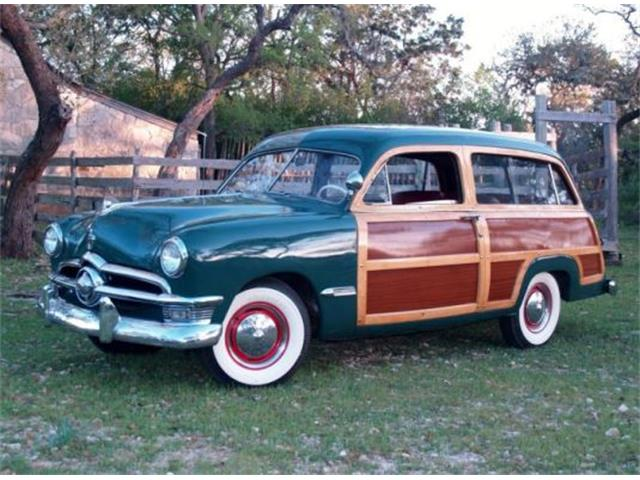 1950 Ford Custom Deluxe Woody Wagon | 890238