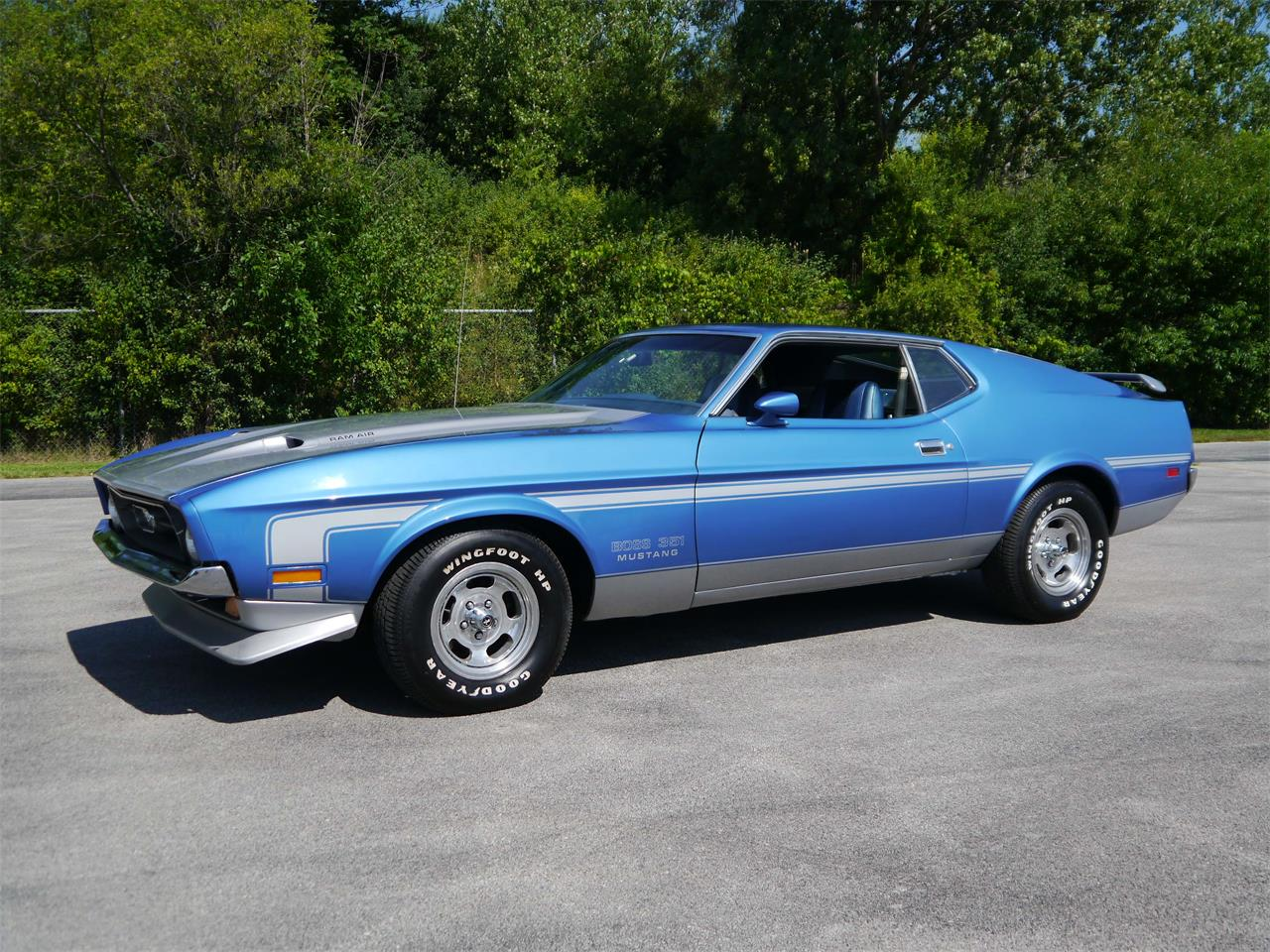 1973 ford mustang mach 1 for sale cc. Black Bedroom Furniture Sets. Home Design Ideas