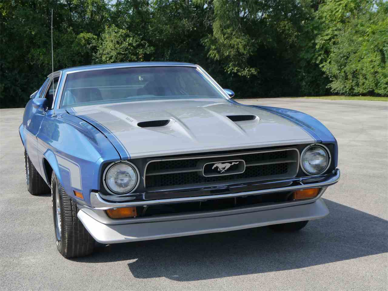 1973 ford mustang mach 1 for sale cc 892454. Black Bedroom Furniture Sets. Home Design Ideas
