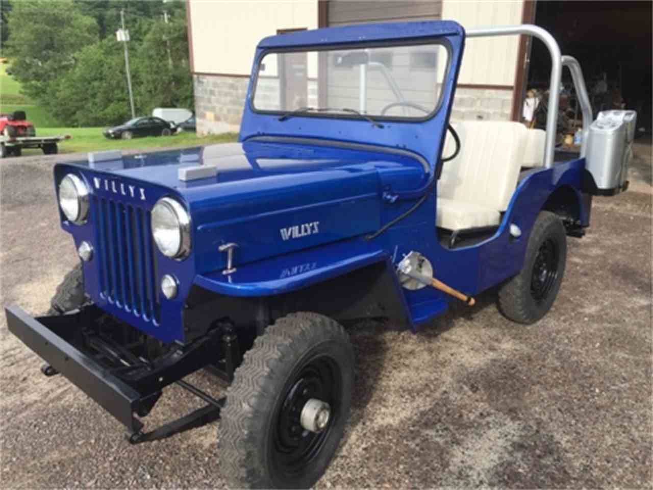 1955 willys jeep sj3b for sale cc 890255. Black Bedroom Furniture Sets. Home Design Ideas