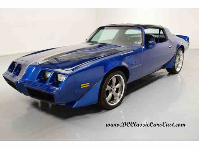 1981 pontiac firebird trans am for sale on 12 available. Black Bedroom Furniture Sets. Home Design Ideas