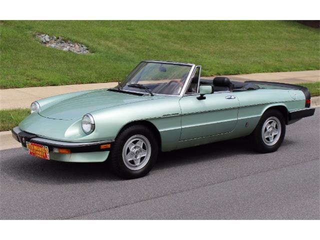 1985 Alfa Romeo Spider | 892674