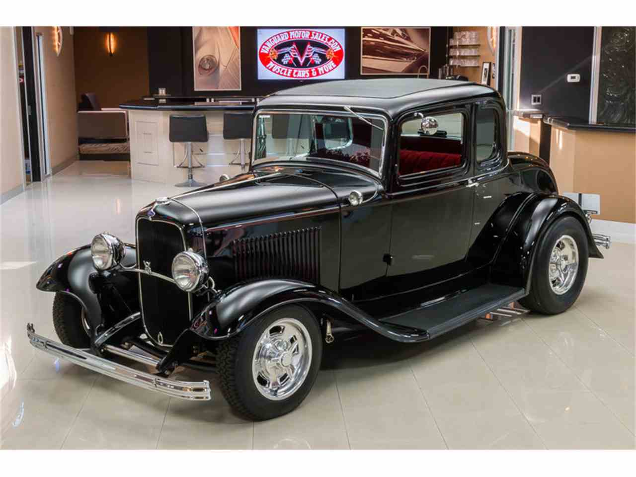 1932 ford 5 window coupe street rod for sale classiccars for 1932 ford 5 window coupe for sale