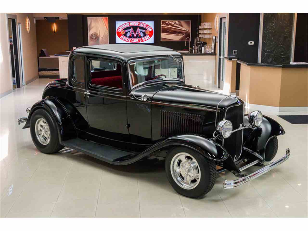 1932 ford 5 window coupe street rod for sale classiccars for 1932 ford 5 window coupe