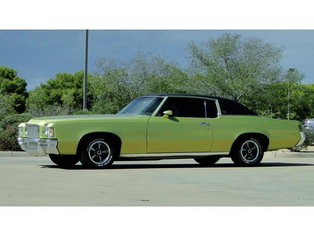 "1971 PONTIAC GRAND PRIX MODEL ""J"" 400cu | 893123"