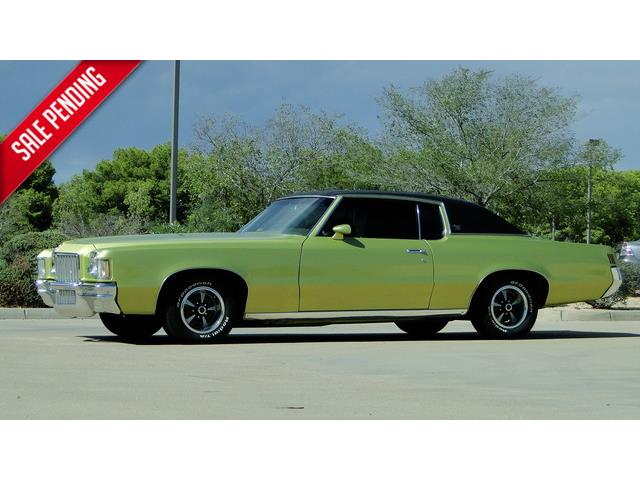 "1971 PONTIAC GRAND PRIX MODEL ""J"" 400cu 