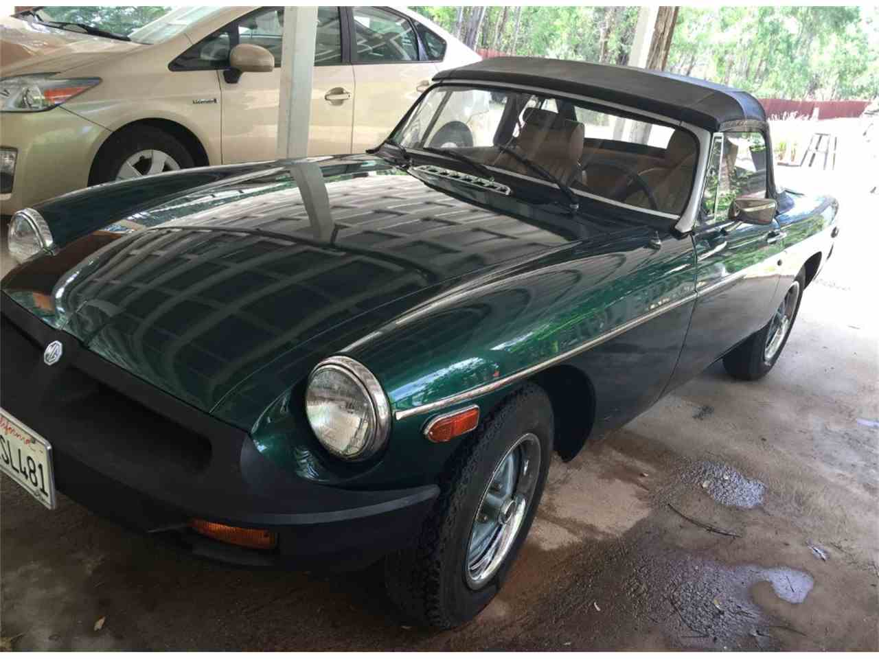 Large Picture of '79 MGB - J5C5