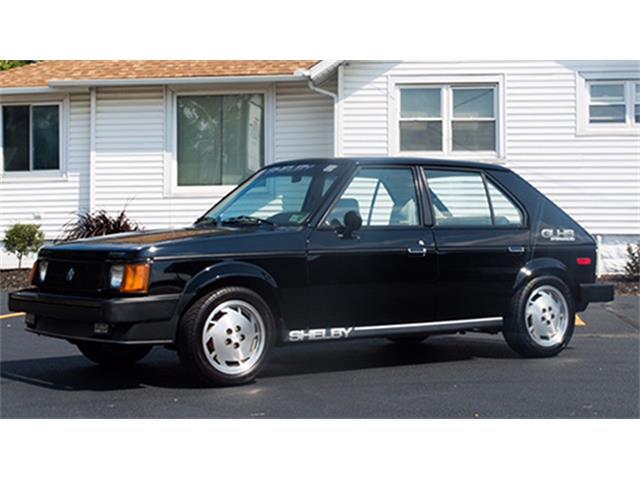 1986 Shelby Dodge Omni GLHS Four-Door Hatchback | 893515