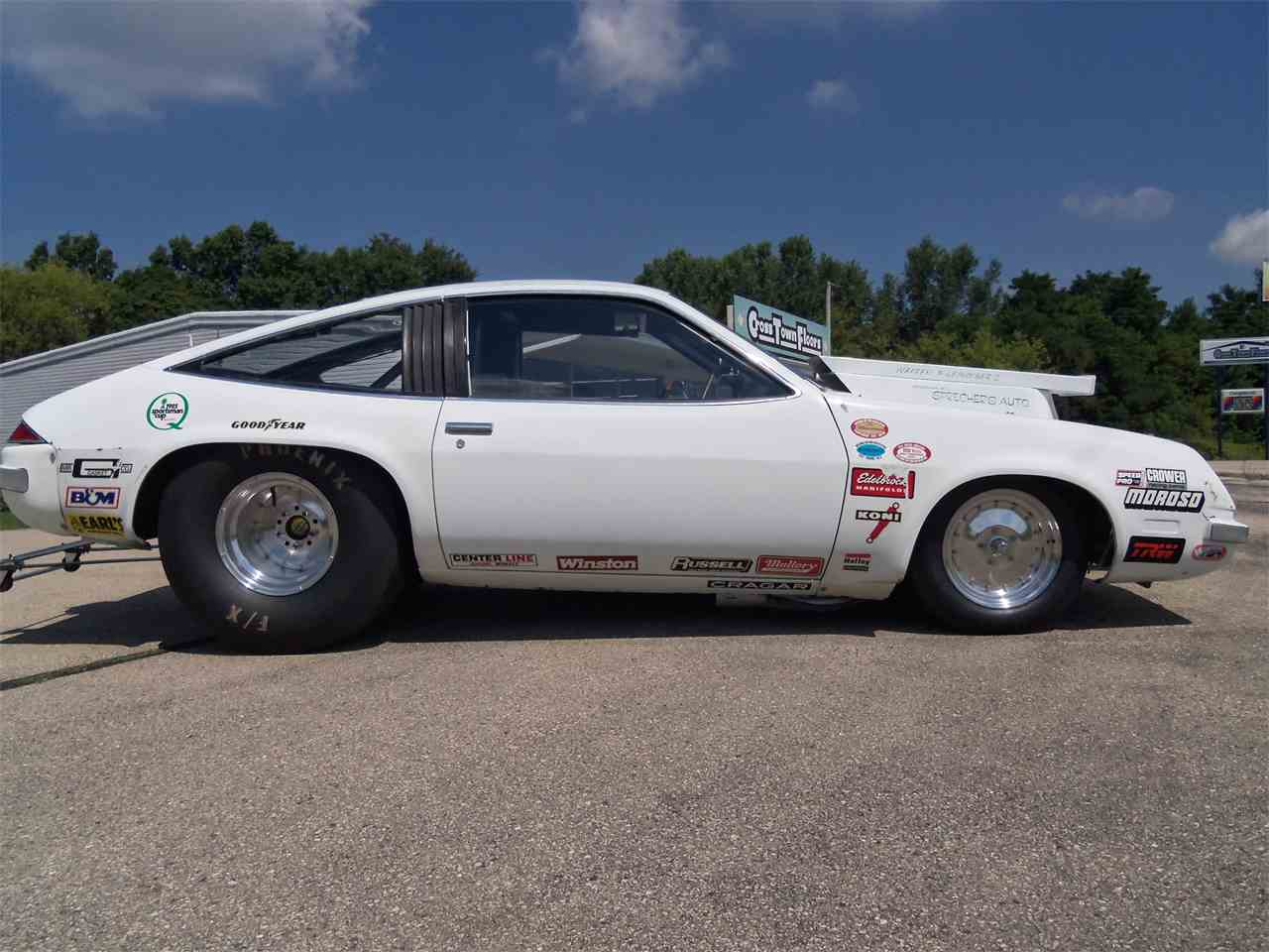 Old Cars For Sale Stock Photos Old Cars For Sale Stock: 1977 Chevrolet Monza Pro Stock Race Car For Sale