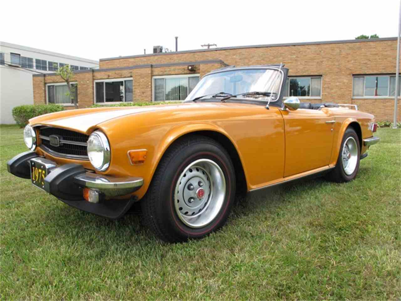 Large Picture of '75 TR6 - J5N4
