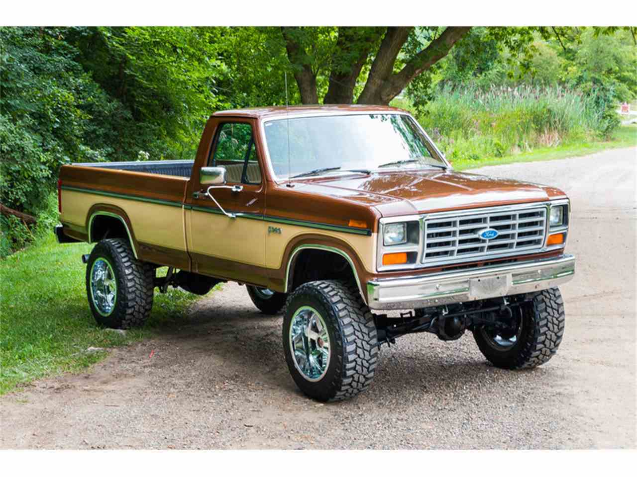 1985 ford f250 4x4 pickup for sale cc 893799. Black Bedroom Furniture Sets. Home Design Ideas