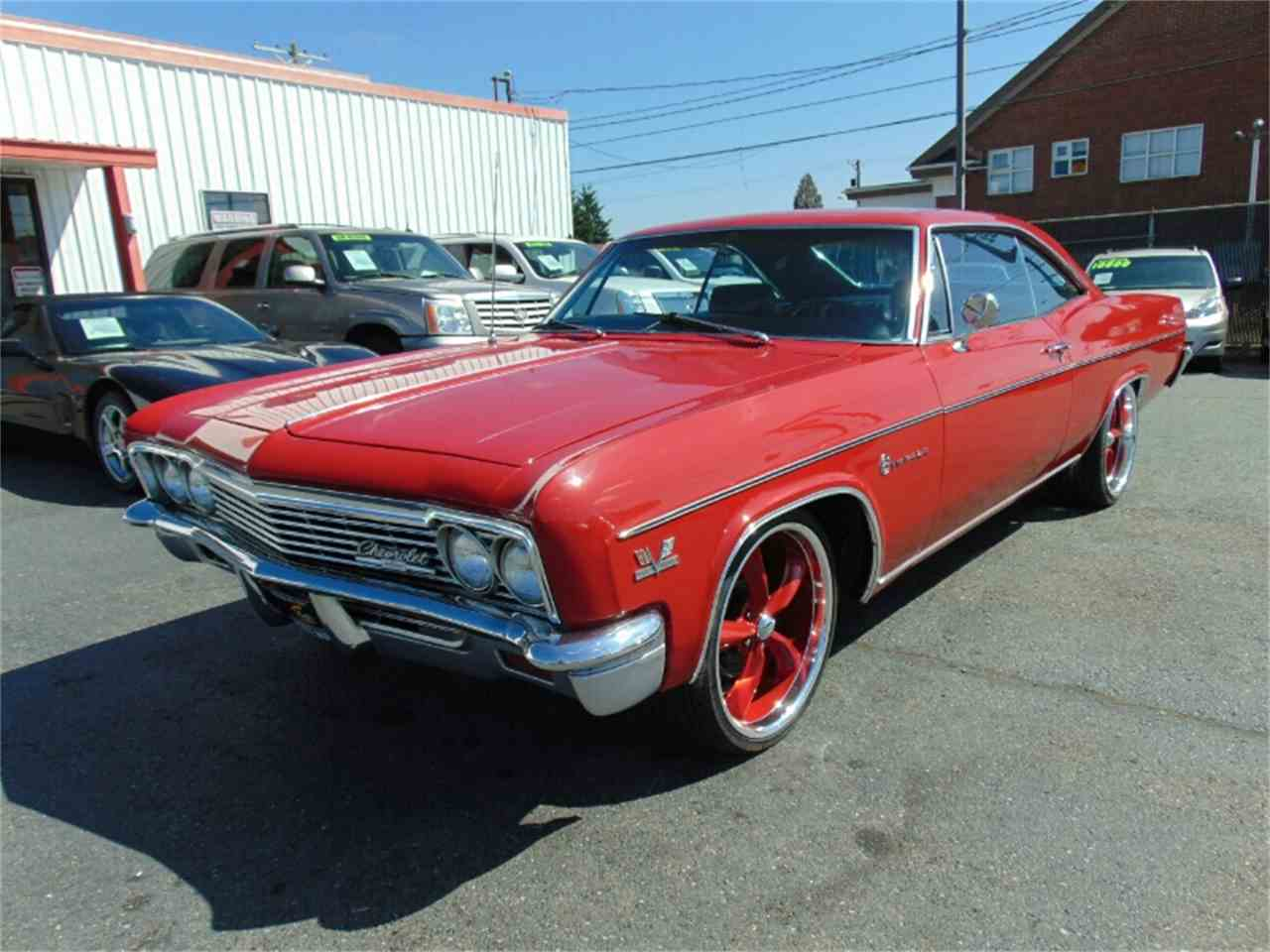 Image 48 Of 50 1966 Chevrolet Impala Ss Convertible Vii By Chevy 427 For Sale Classiccarscom Cc 894077