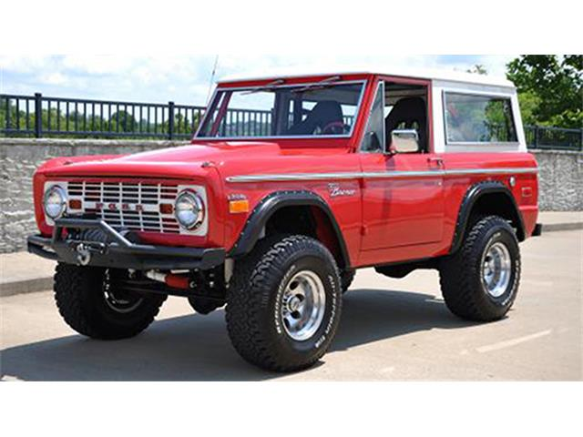 1971 Ford Bronco   894170
