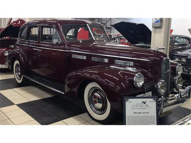 1940 LaSalle 50 | 894613
