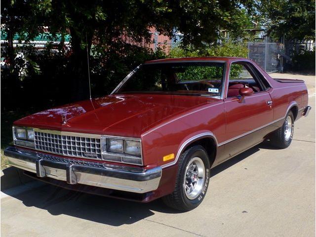1984 GMC CABALLERO DIABLO | 894702