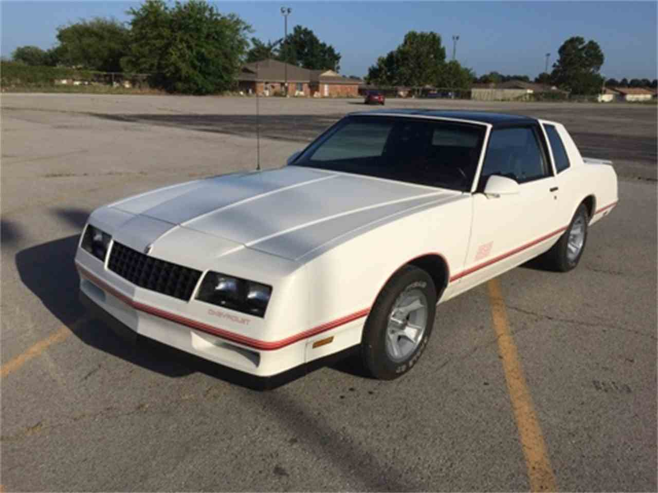 1987 chevrolet monte carlo ss aerocoupe for sale cc 895098. Black Bedroom Furniture Sets. Home Design Ideas