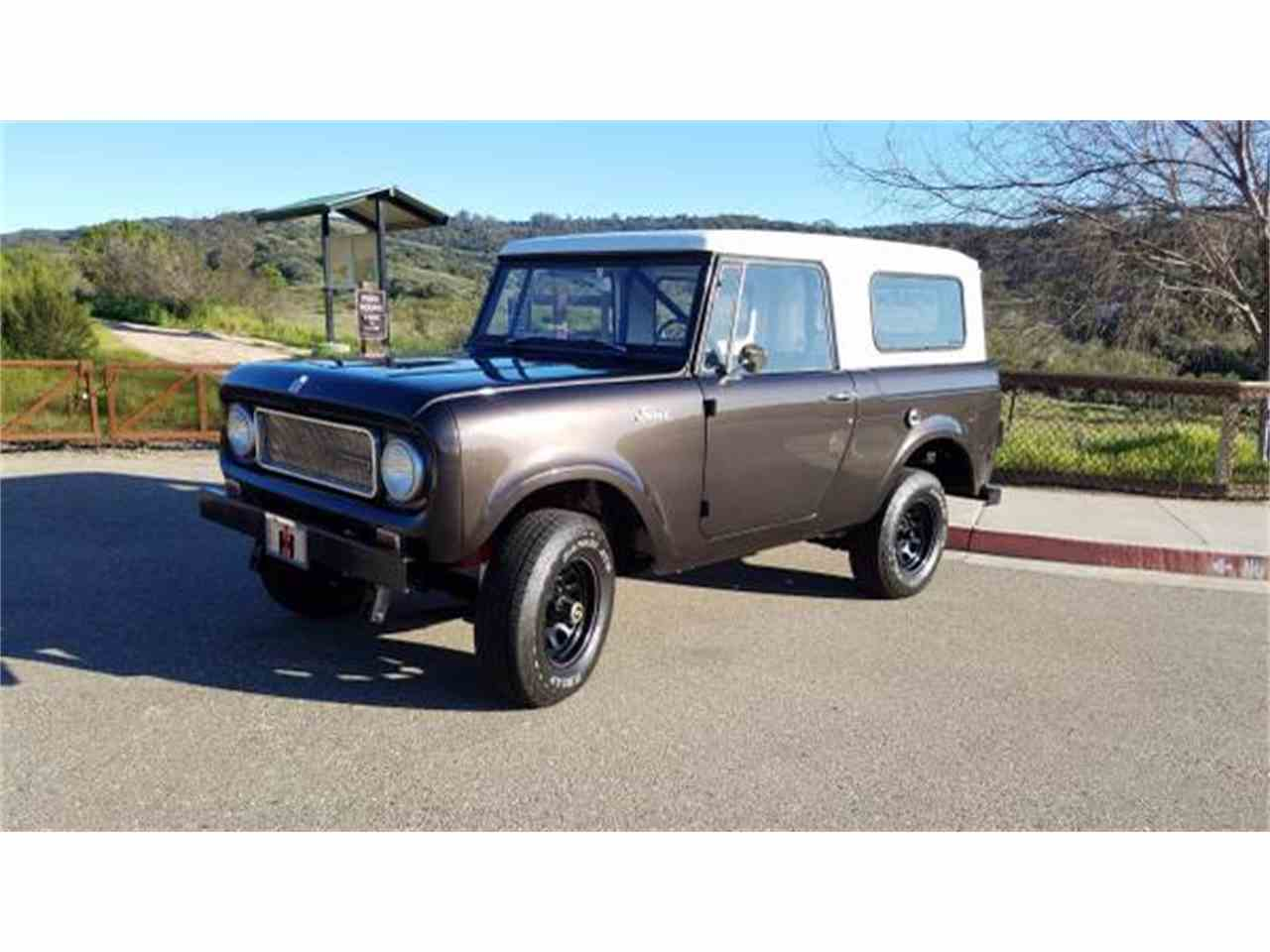 Large Picture of '67 International Harvester Scout located in Santa Maria  California - $24,900.00 Offered by a Private Seller - J6OD