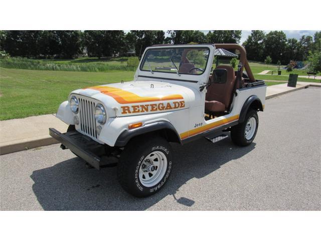 1981 Jeep CJ7   895124