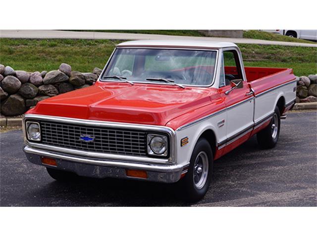 1972 Chevrolet Cheyenne 10 Super Sport Pickup | 895189
