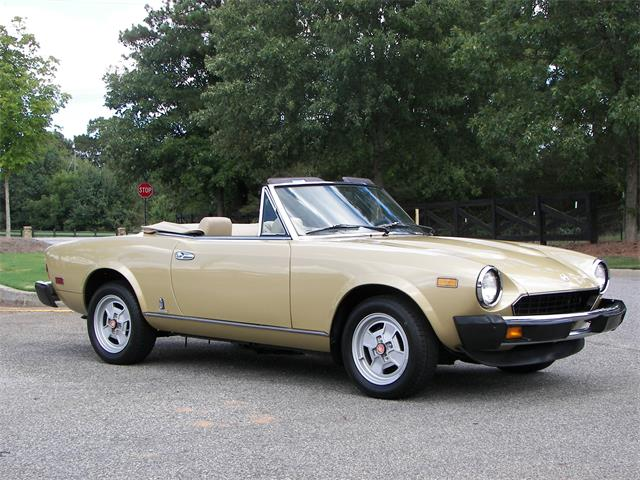 1981 Fiat Spider | 895238