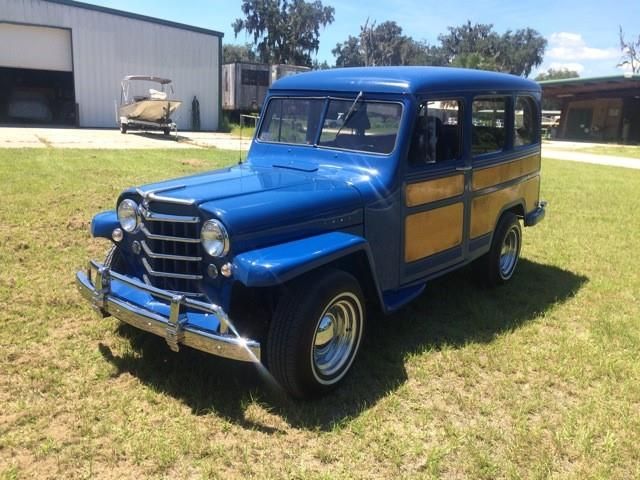 1951 Willys Woody Wagon | 895283
