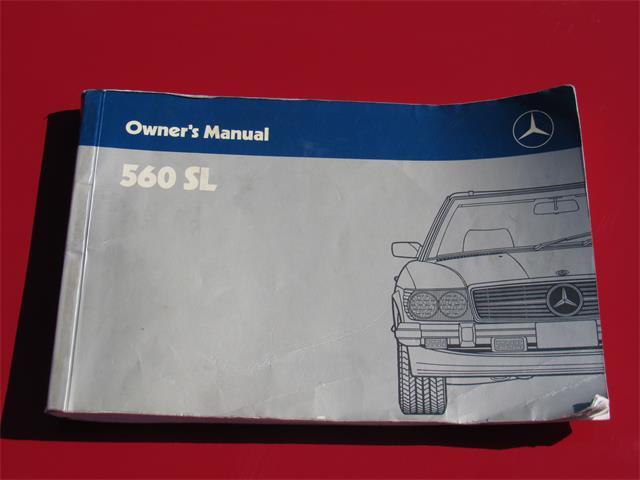 1986 Mercedes-Benz 560SL | 895288