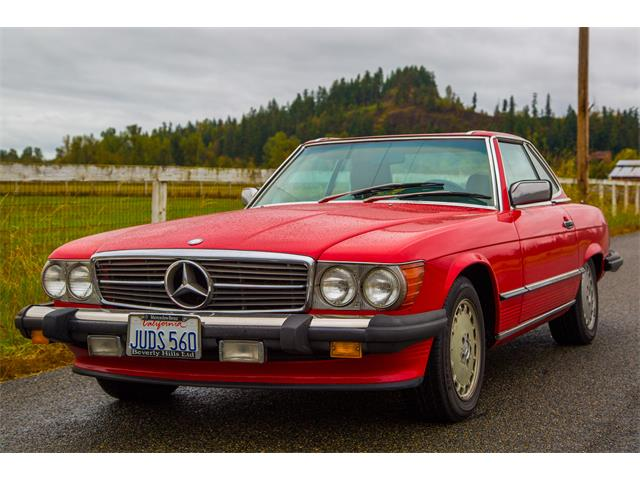 1986 Mercedes-Benz 560SL | 895288