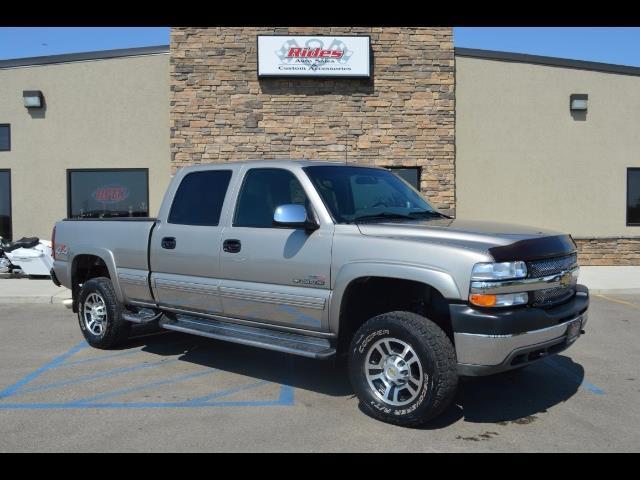 2002 Chevrolet Silverado 25004dr Crew Cab | 895353