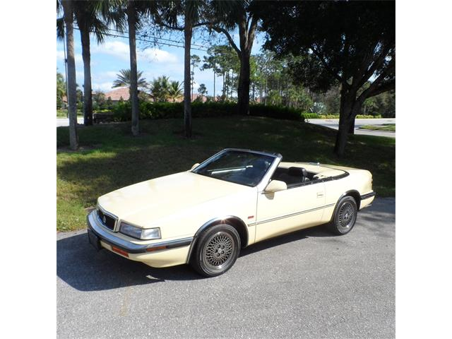 1990 Chrysler TC Maserati Roadster | 895434