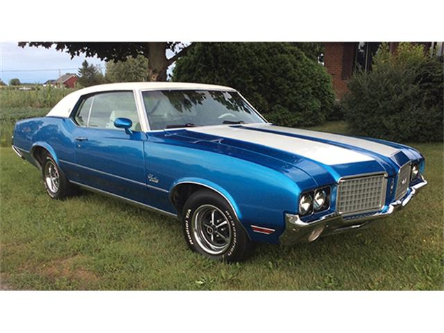 1972 Oldsmobile Cutlass 4-4-2 Hardtop Coupe | 895472