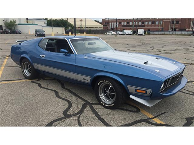 1973 Ford Mustang Mach 1 Q-Code | 895493