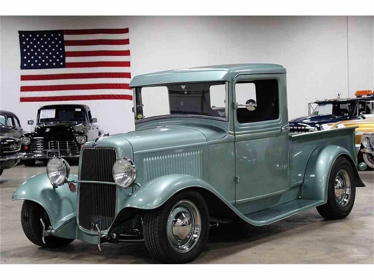 1934 ford pickup nostalgic hot rod for sale cc 895892. Black Bedroom Furniture Sets. Home Design Ideas