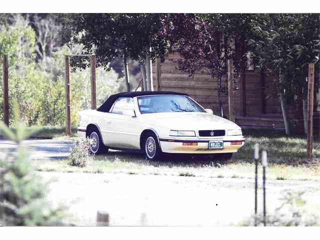 1989 Chrysler TC by Maserati | 895932