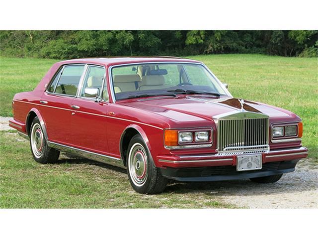 1990 Rolls-Royce Silver Spur II Mulliner Park Ward Saloon | 896062